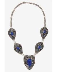 Nasty Gal | Blue Vanessa Mooney Izusa Lapis Necklace | Lyst
