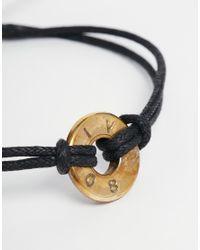 Love Bullets | Black Lovebullets Looped Bullet Bracelet for Men | Lyst