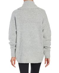 MICHAEL Michael Kors | Gray Cowlneck Sweater | Lyst