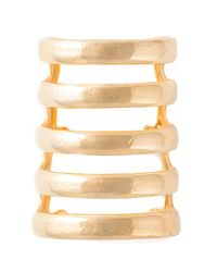 Aurelie Bidermann | Metallic 'esteban' Cuff | Lyst