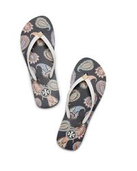Tory Burch | Blue Thin Flip-flop | Lyst