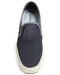 G.H. Bass & Co. | Blue Hopewell Canvas Slip-ons for Men | Lyst