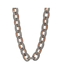 Munnu | Brown Women's Indo-russian Necklace | Lyst