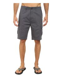 Jack O'neill | Gray Monte Verde Walkshorts for Men | Lyst