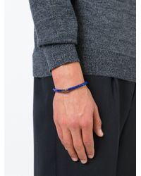 Tateossian - Blue 'melted Disc' Bracelet for Men - Lyst