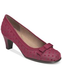 Aerosoles | Purple Playhouse Pumps | Lyst