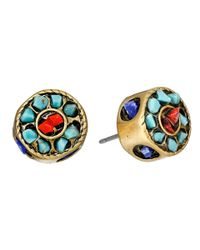 Sam Edelman - Multicolor Wild Child Beaded Stud Earring - Lyst
