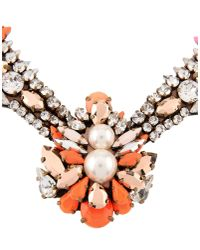 Shourouk | Orange Necklace | Lyst