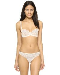 Myla | White Heritage Lace Thong | Lyst