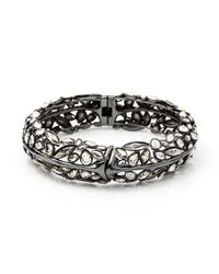 Alexis Bittar - Metallic Liquid Crystal Hinge Bracelet - Lyst