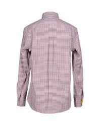 Harmont & Blaine - Brown Shirt for Men - Lyst