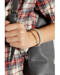 Isabel Marant - Blue Gold-Tone Spinel Bracelet - Lyst
