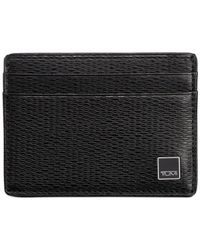 Tumi | Black Monaco Slim Card Case for Men | Lyst