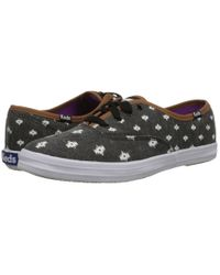 Keds | Black Champion Native Dot | Lyst