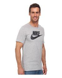 Nike - Gray Futura Icon Tee for Men - Lyst