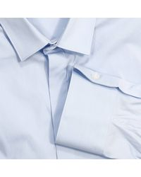 Emporio Armani - Blue Shirt for Men - Lyst