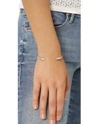 Elizabeth and James - Metallic Vogel Cuff Bracelet - Lyst