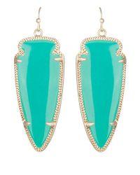 Kendra Scott | Blue Skylar Earrings Teal | Lyst