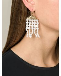 Aurelie Bidermann - Metallic 'lakotas' Earrings - Lyst