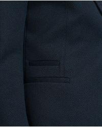 Zara | Blue Basic Blazer for Men | Lyst