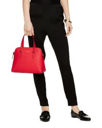 Kate Spade | Red Maise Leather Dome Bag | Lyst