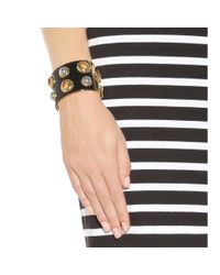Marc By Marc Jacobs - Black Embellished Cuff - Lyst