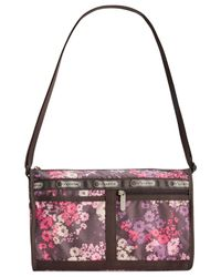 LeSportsac - Multicolor Deluxe Shoulder Satchel - Lyst