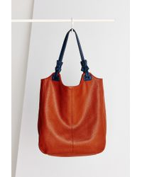 Kimchi Blue | Brown Knotted North/south Tote Bag | Lyst