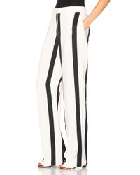 Acne Studios - Black Obel Striped Trousers - Lyst