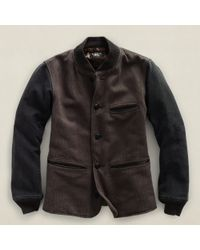 RRL | Black Thompson Jacket for Men | Lyst