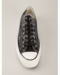 Converse - Black Soup-Print Sneakers for Men - Lyst
