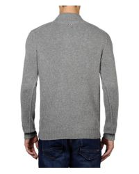 Napapijri | Gray Zip Sweatshirt for Men | Lyst