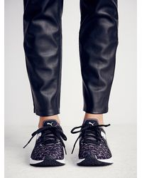 Free People | Black Pulse Graphic Trainer | Lyst