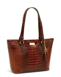 Brahmin - Brown 'medium Asher' Tote - Lyst