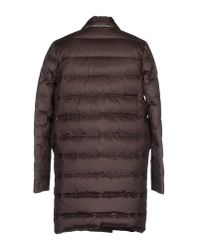 Brunello Cucinelli - Brown Coat - Lyst