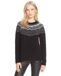 Joie | Multicolor 'jehannon' Wool Blend Sweater | Lyst