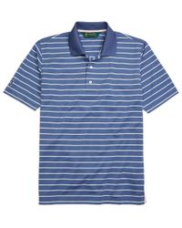 Brooks Brothers | Blue St. Andrews Links Stripe Golf Polo Shirt for Men | Lyst