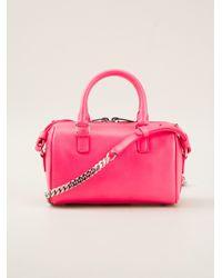 Saint Laurent   Pink Baby Duffle Shoulder Bag   Lyst