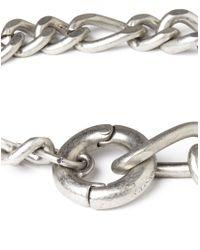 Cheap Monday | Metallic Hockney Bracelet - Silver for Men | Lyst