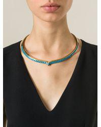 Aurelie Bidermann - Blue 'Apache' Necklace - Lyst
