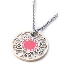 Marc By Marc Jacobs - Metallic Symbols Pendant Necklace - Lyst