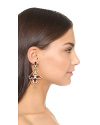DANNIJO | Red Cyrus Earrings | Lyst