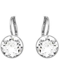 Swarovski - Metallic Bella Mini Pierced Earrings - Lyst