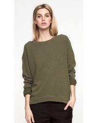 NLST - Green Classic Sweatshirt - Lyst