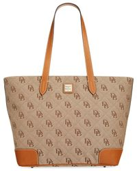 Dooney & Bourke | Natural Americana Signature Tote | Lyst