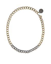 Lanvin | Metallic Susan Short Necklace | Lyst