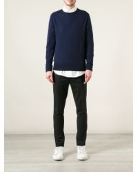 Acne Studios | Blue 'Clissold O' Sweater for Men | Lyst