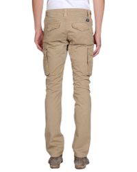 Woolrich - Natural Casual Pants for Men - Lyst