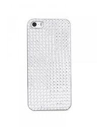 BaubleBar - White Sparkle Iphone 5 Case - Lyst