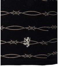 Pringle of Scotland | Black Barbed Wire Trunks for Men | Lyst